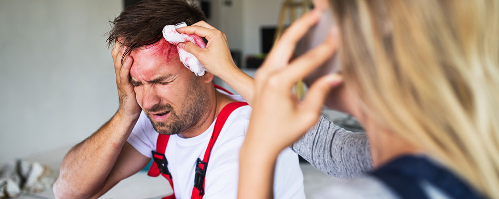 Head Trauma with a Slip and Fall Accident